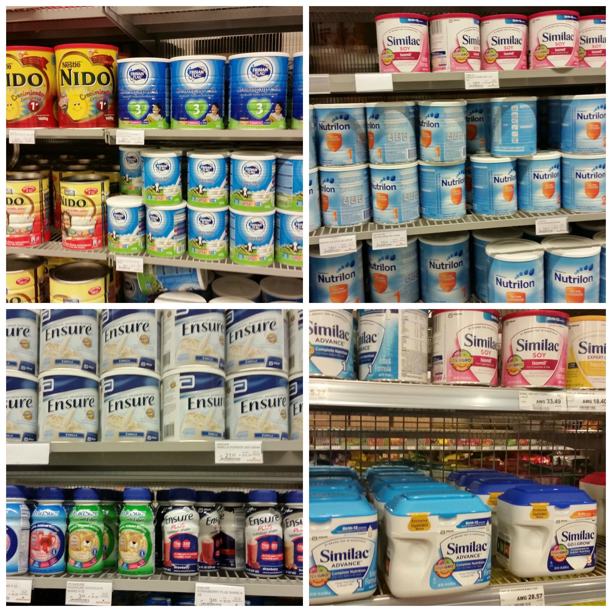 tipos de leite em aruba