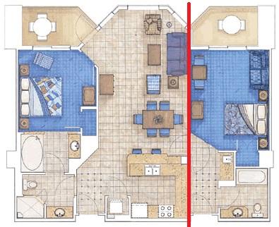 plano dos quartos